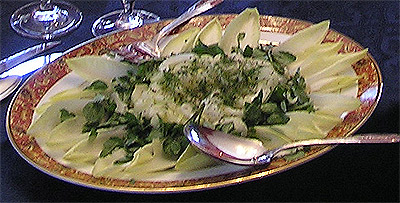 Endive, Watercress and Cucumber Salad