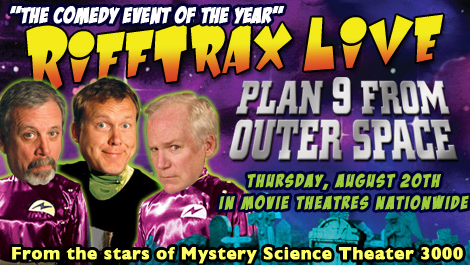 Plan 9 From Outer Space with Rifftrax